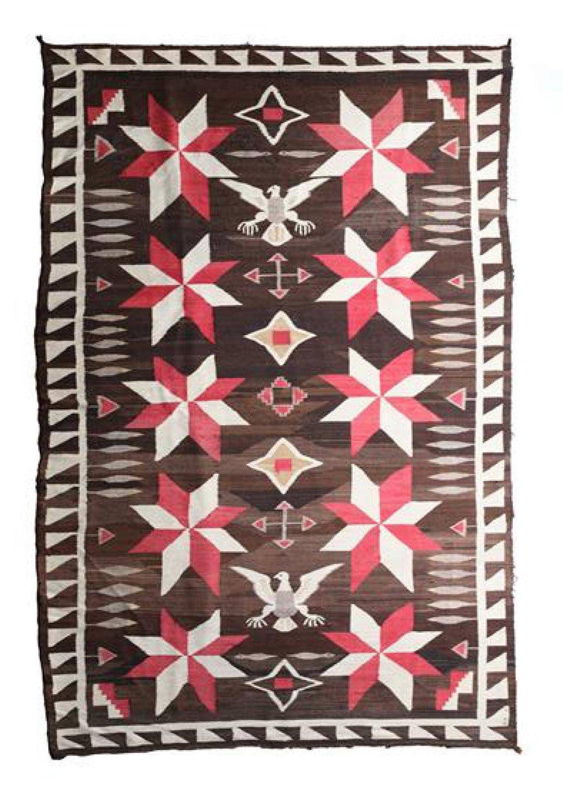 Navajo Crystal pictorial rug