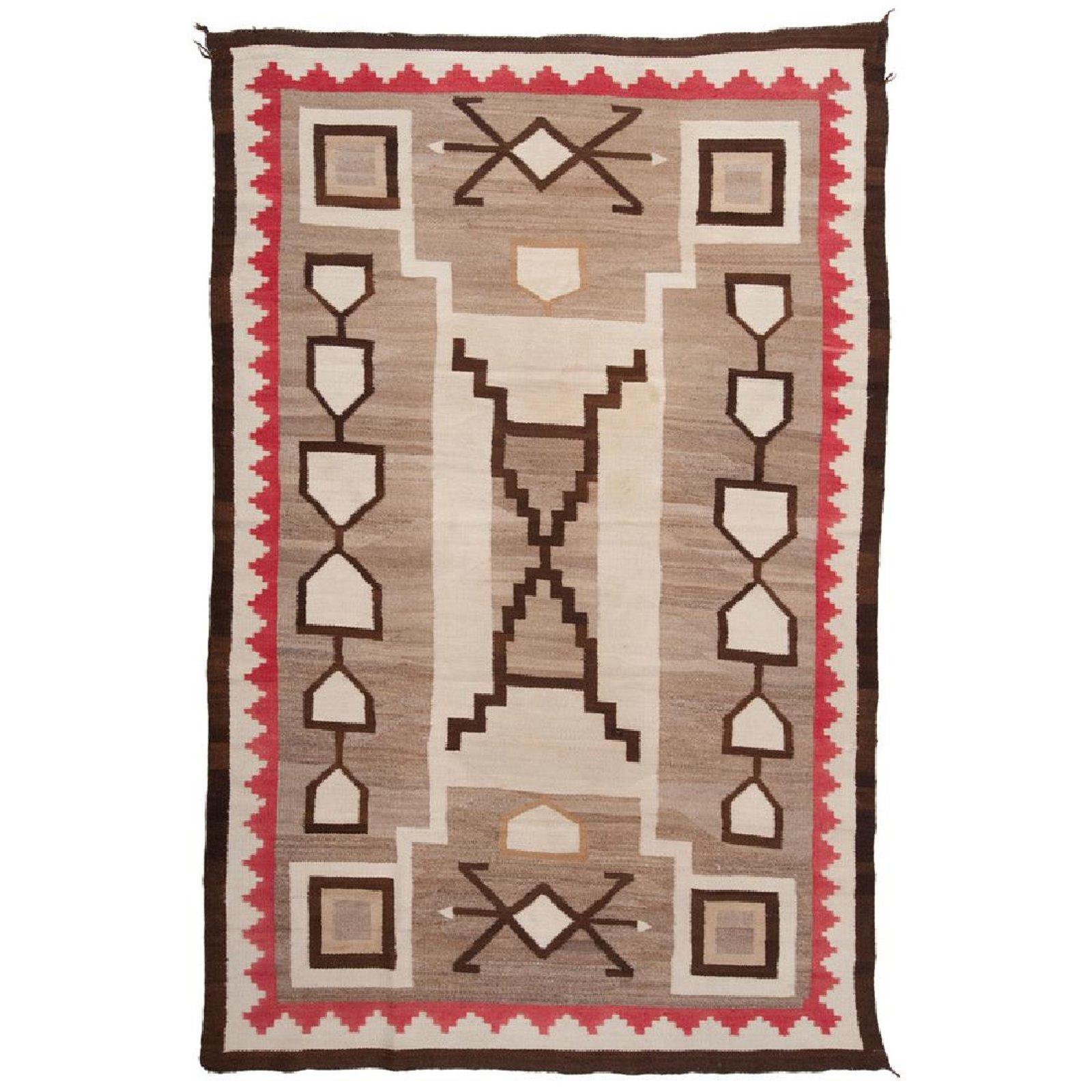 Navajo Storm pattern weaving/rug